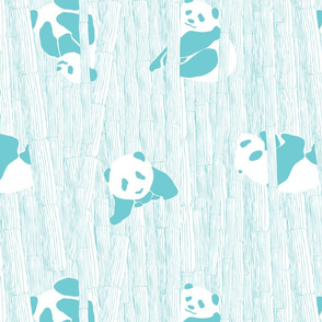 peek-a-bamboo pandas