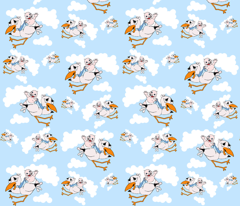 Special_Delivery fabric by thechronicseamstress on Spoonflower - custom fabric