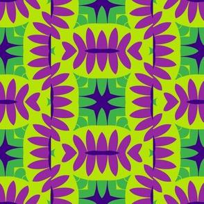 Mandorle (Green & Magenta)