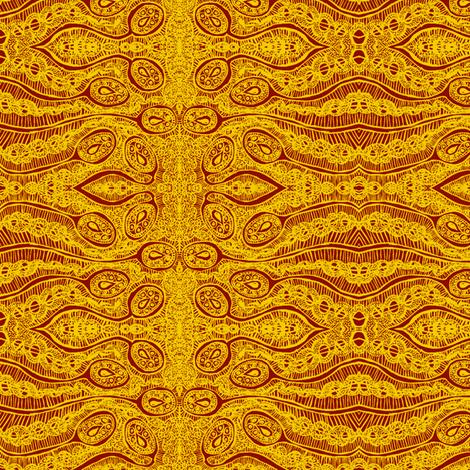 summer tear pods fabric by tallulah11 on Spoonflower - custom fabric