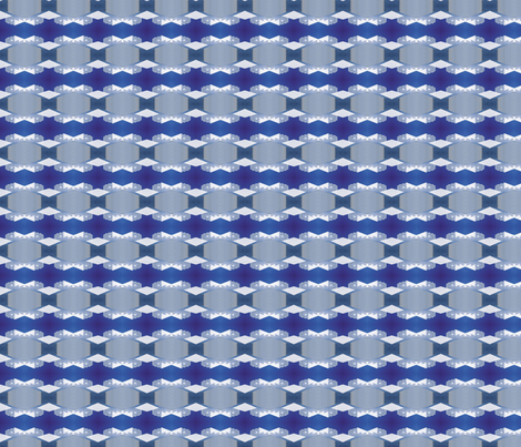 Blue abstract fabric by joleneko on Spoonflower - custom fabric