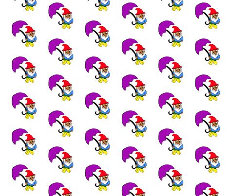 gnomey_rain fabric by thechronicseamstress on Spoonflower - custom fabric