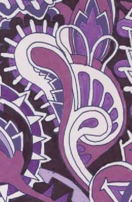Fly Away Purple Wings