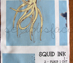 Squid Ink Zippered Pouch Project