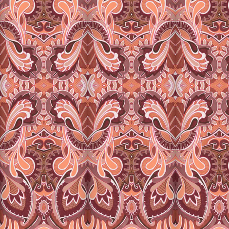 Dancing the Charleston fabric by edsel2084 on Spoonflower - custom fabric