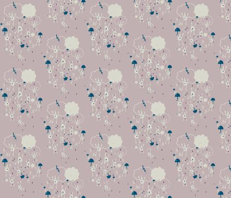 Free Rain fabric by tracydb70 on Spoonflower - custom fabric