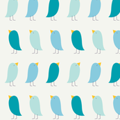 Little Blue Birdies