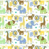 Cuddly Safari