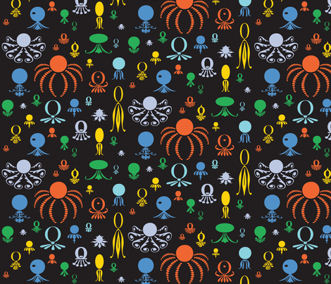 Octo Play fabric by lonniepop on Spoonflower - custom fabric