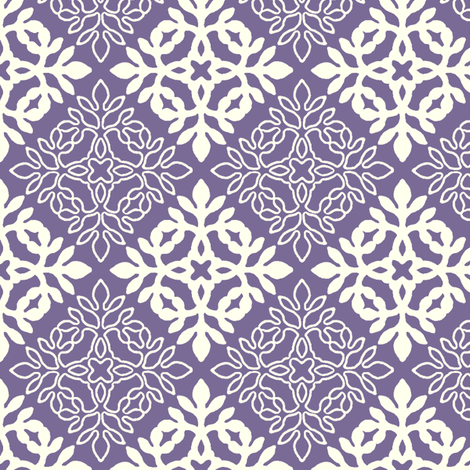 PURPLE mini-papercut3-solid-outlines fabric by mina on Spoonflower - custom fabric