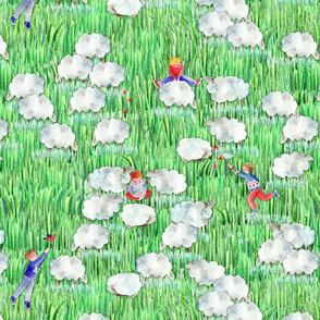 123 compter les mouton pour s'endormir