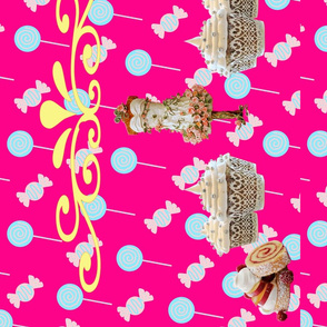 Sweets and Tiara (in pink colorway)