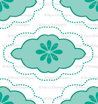 flowercloud blue