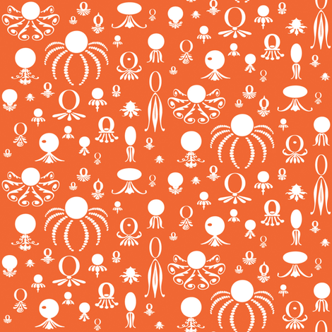 Octo Play Red Rover fabric by lonniepop on Spoonflower - custom fabric