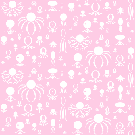 Octo Play Pinky fabric by lonniepop on Spoonflower - custom fabric