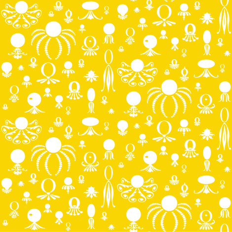 Octo Play Sunny Day fabric by lonniepop on Spoonflower - custom fabric