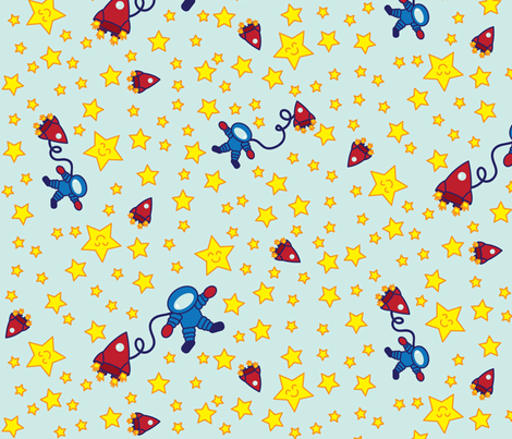 Twinkle, Twinkle fabric by robyriker on Spoonflower - custom fabric