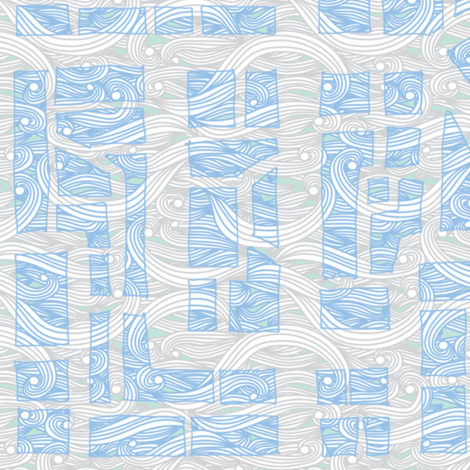 Big Windy City fabric by leighr on Spoonflower - custom fabric