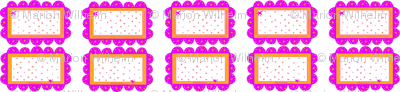 one_row_pink