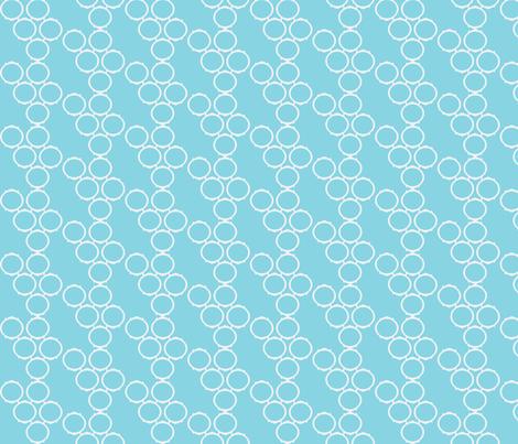 framefabric blue fabric by luluhoo on Spoonflower - custom fabric