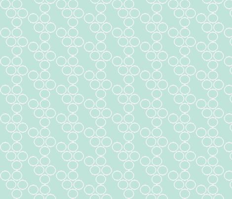 frame fabric seafoam fabric by luluhoo on Spoonflower - custom fabric