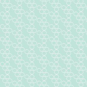 frame fabric seafoam