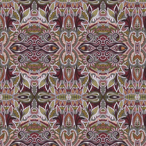When Only Chocolate Will Do fabric by edsel2084 on Spoonflower - custom fabric