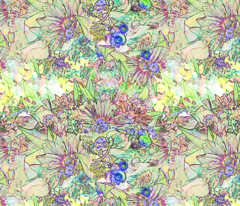Floral_Intrigue_4 fabric by colorcrazed on Spoonflower - custom fabric