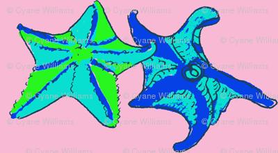 Starfish dance LTPink-ch