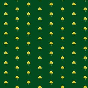 Ginkgo Leaf- Dkgreen