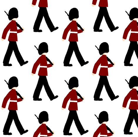 toy soldiers 1 fabric by uk_lass_in_us on Spoonflower - custom fabric