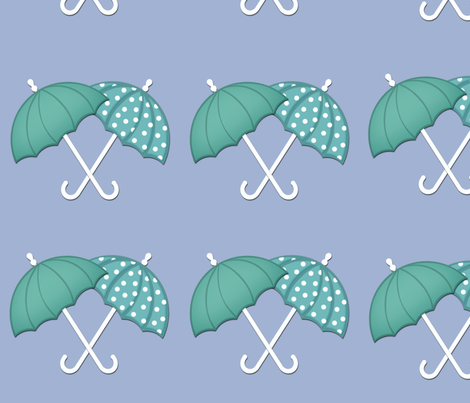 Umbrellas fabric by cherie on Spoonflower - custom fabric