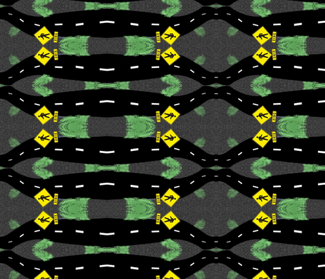 map fabric by melk on Spoonflower - custom fabric