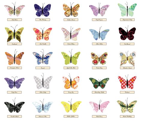 map_butterfly_zoom fabric by peppermintpatty on Spoonflower - custom fabric