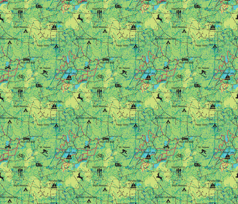 map_lets_go fabric by tracymillerdesigns on Spoonflower - custom fabric