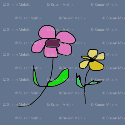 Two simple Flowers