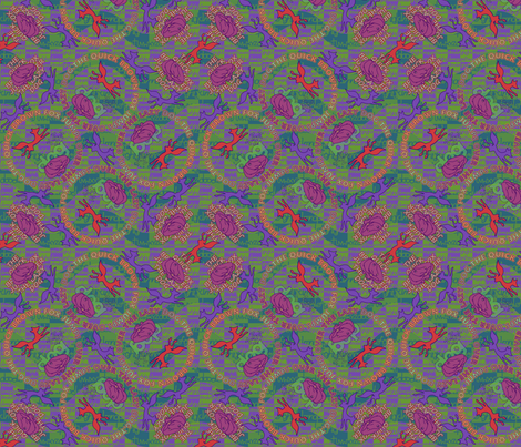 ©2011 TQBFJOTLD fabric by glimmericks on Spoonflower - custom fabric