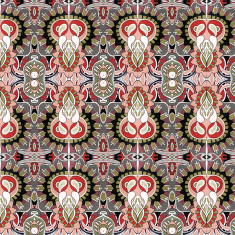 Another Deco Echo fabric by edsel2084 on Spoonflower - custom fabric