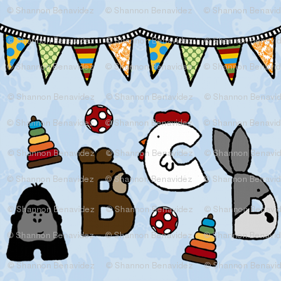 Animal Alphabet Party
