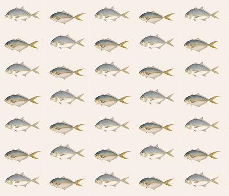 Two Fish Friends, lighter fabric by susaninparis on Spoonflower - custom fabric