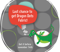 Dragon Dots Grey