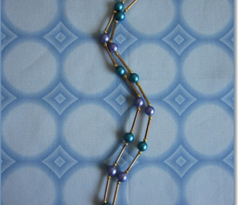 Spring Beauty Blue Circles © 2009 Gingezel™ Inc.