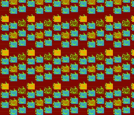 Stylizedfish2 fabric by indigo313 on Spoonflower - custom fabric