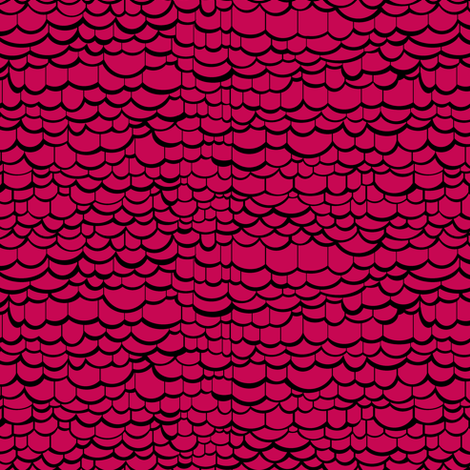 Pink Dragon Skin fabric by pond_ripple on Spoonflower - custom fabric