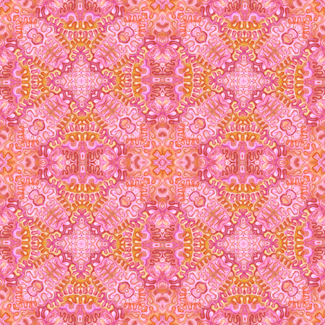 Pink Reflection fabric by yvanstrong on Spoonflower - custom fabric