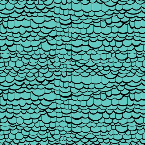 Blue Dragon Skin fabric by pond_ripple on Spoonflower - custom fabric