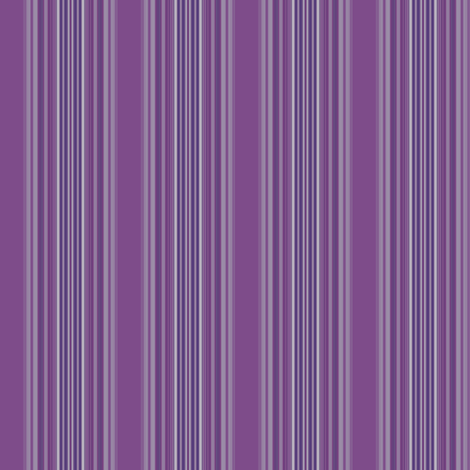 Hyacinth Purple Stripe © 2009 Gingezel Inc. fabric by gingezel on Spoonflower - custom fabric