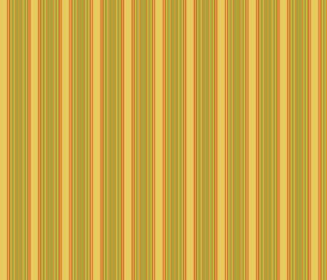 Yellow and Orange Stripe © 2009 Gingezel Inc. fabric by gingezel on Spoonflower - custom fabric