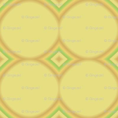 Daffodil Yellow Circles © Gingezel™ 2009