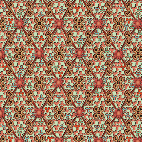 ©2011 The Easter Egg fabric by glimmericks on Spoonflower - custom fabric